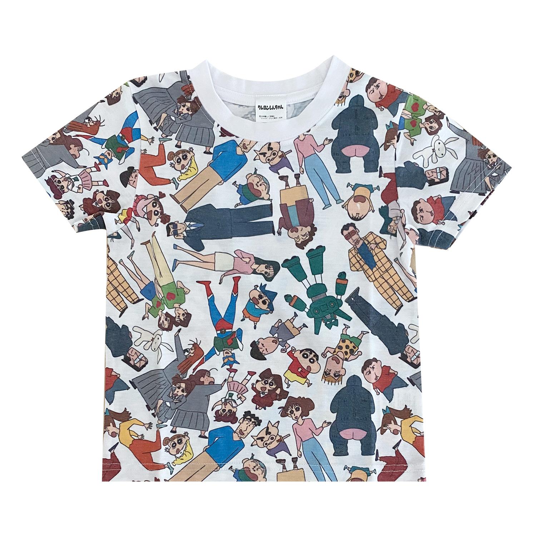 クレヨンしんちゃん Tシャツ 集合 パターン(キッズ110)