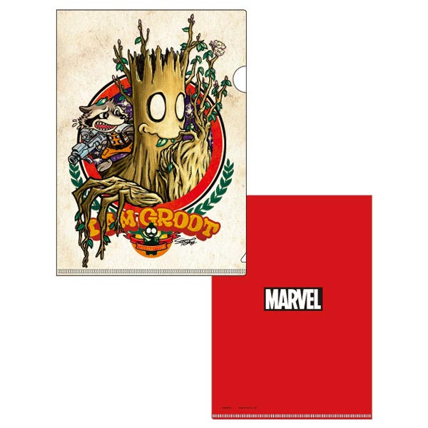 MARVEL/A4クリアファイル/グルート