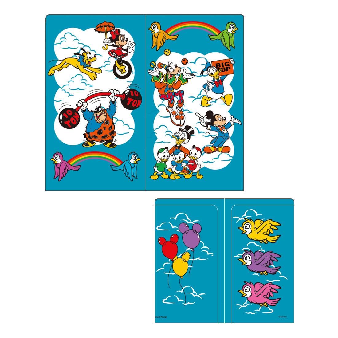 <NOSTALGICA>ディズニーキャラクター/マスクケース/ミッキーマウス&フレンズ/空