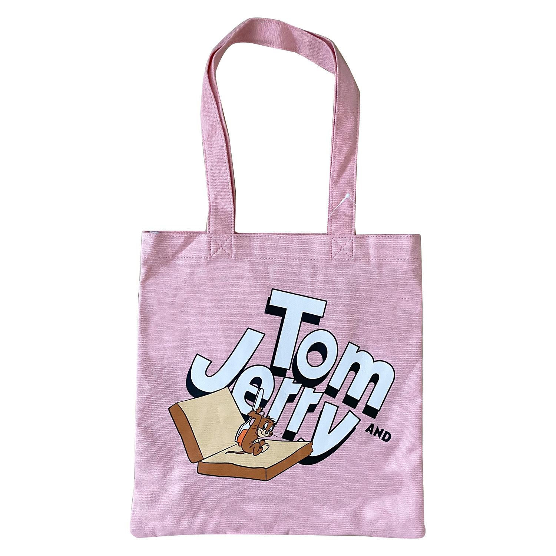 トムとジェリー カラートートバッグ サンドウィッチジェリー
