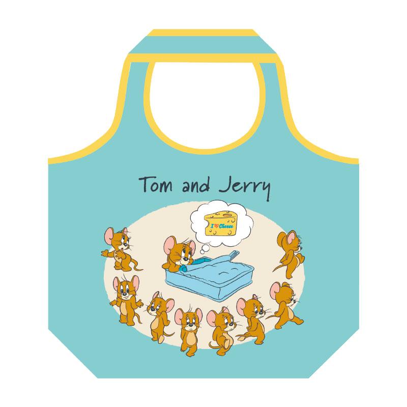 トムとジェリー くるくるショッピングバッグ ジェリー アイラブチーズ