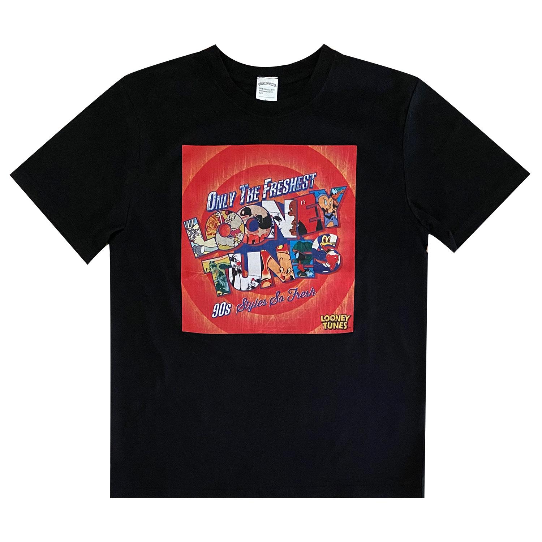 ルーニー・テューンズ  Tシャツ ロゴ(M)