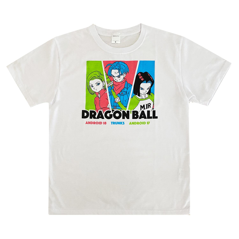 ドラゴンボール超 Tシャツ トランクス&18号&17号(L)