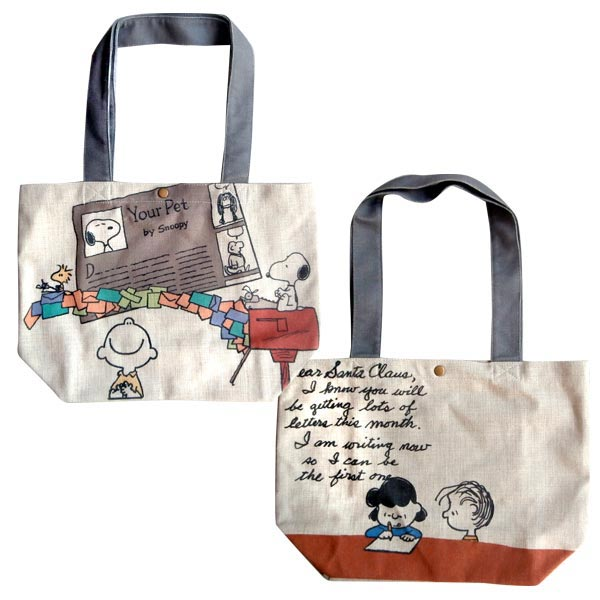 PEANUTS トートバッグ Letter